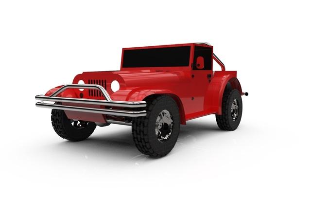 Jeep Rnegrad 1985