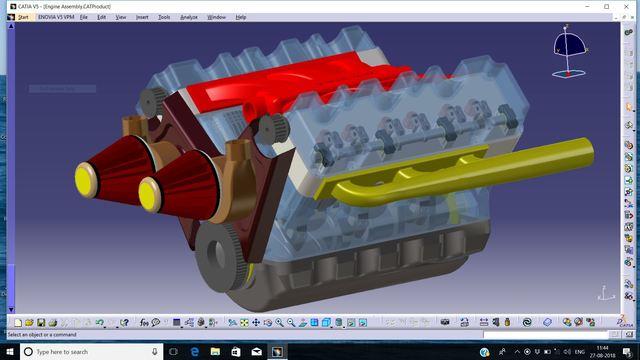 V6 IC Engine
