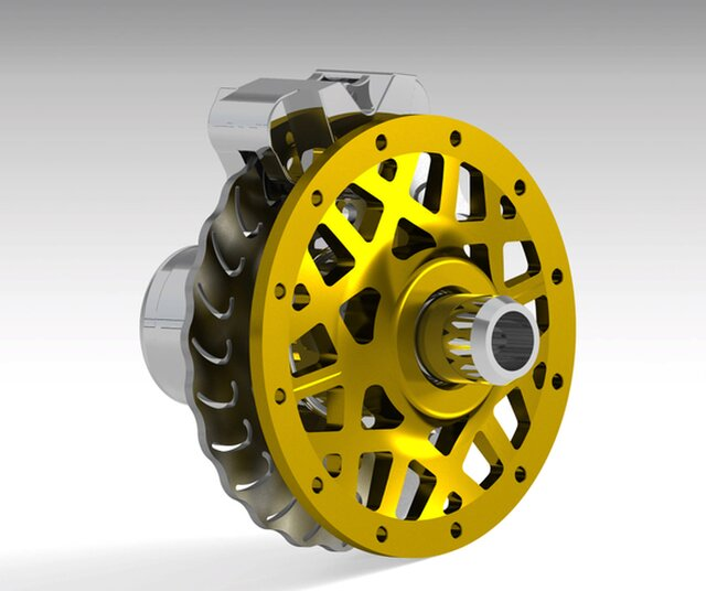 Wheel Center and Hub design for FSAE Car