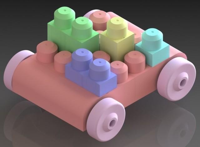 Building Blocks Roller