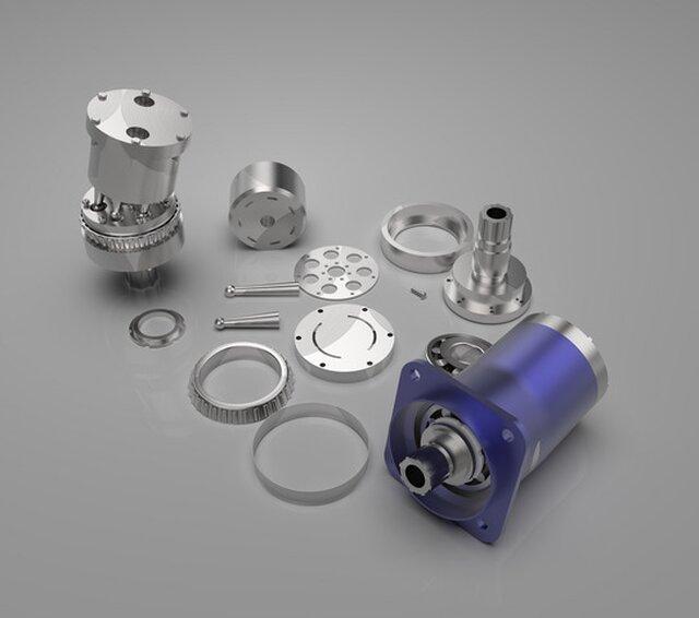 Bent Axis Hydraulic motor