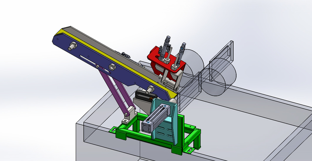 Automatic Part Loading for Centerless Grinding Machine