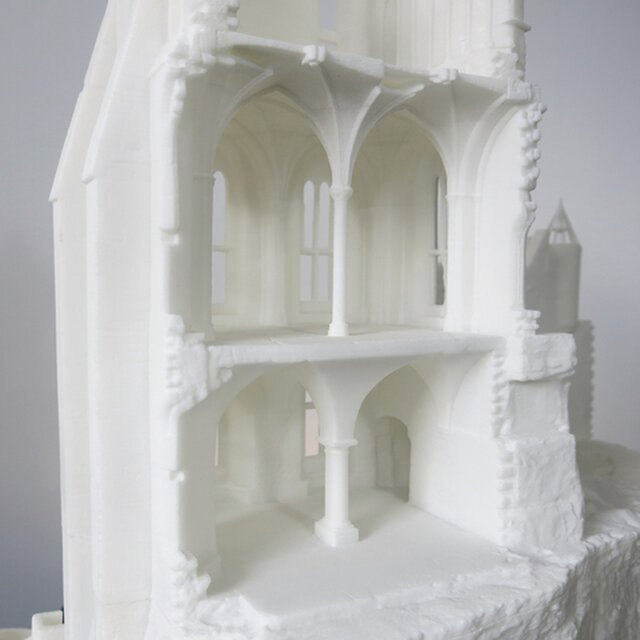 Mount St. Michel mock-up
