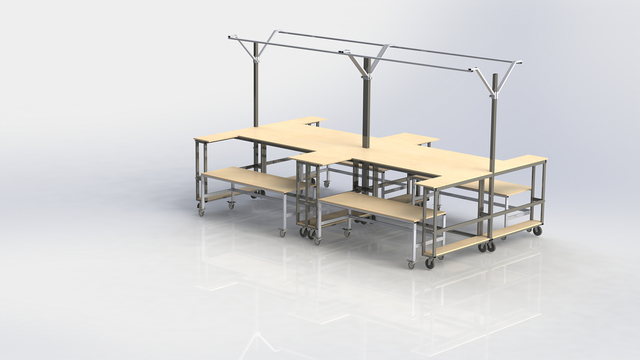 Electronic Workbench Design & Manufacturing