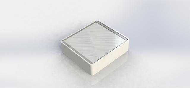 Solar powered door security system