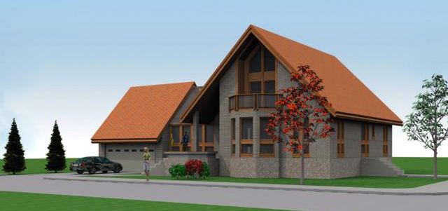 Single Residential  House – Alpine Style
