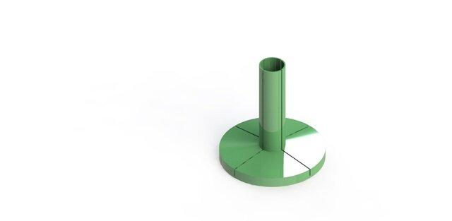 Modular Acrylic Sheet Support V1