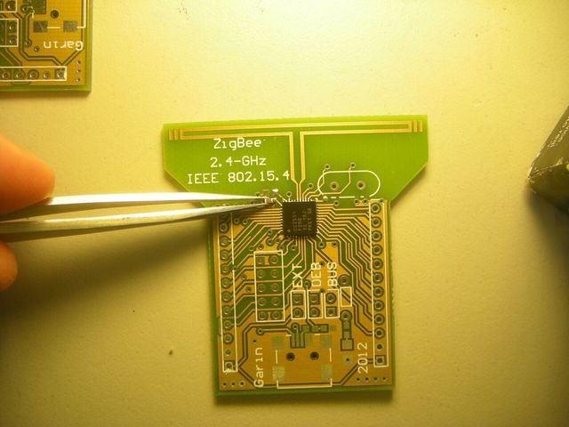 CC2531 pcb design using two layers.