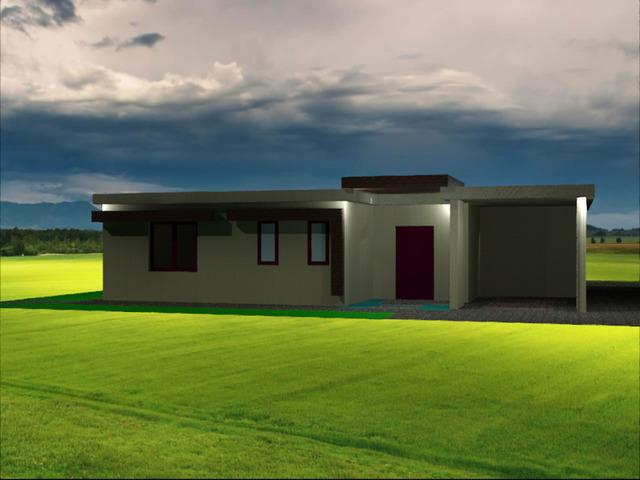 Villa unit for resort