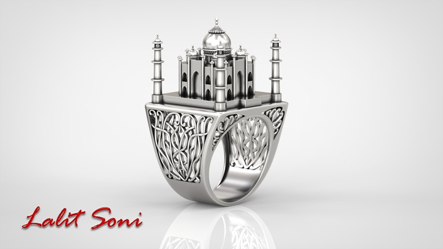 The TajMahal Ring