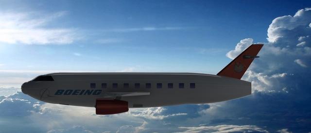 Boeing Aeroplane - NX MODEL