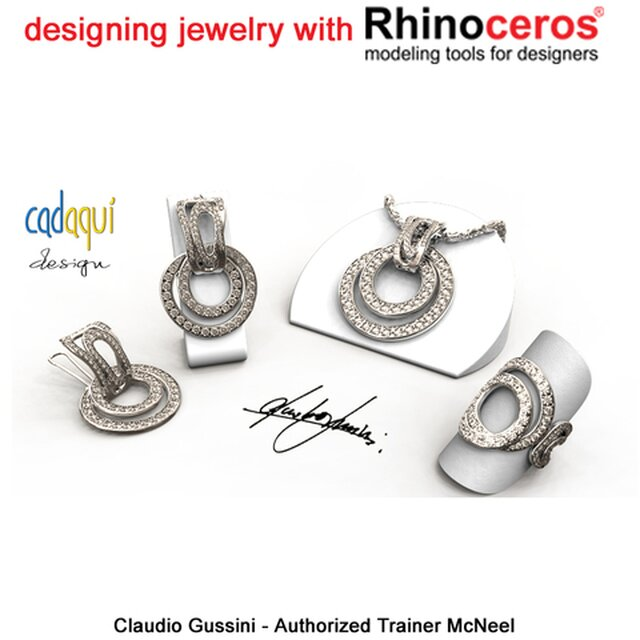 Rhinoceros 3D advanced user and authorized trainer