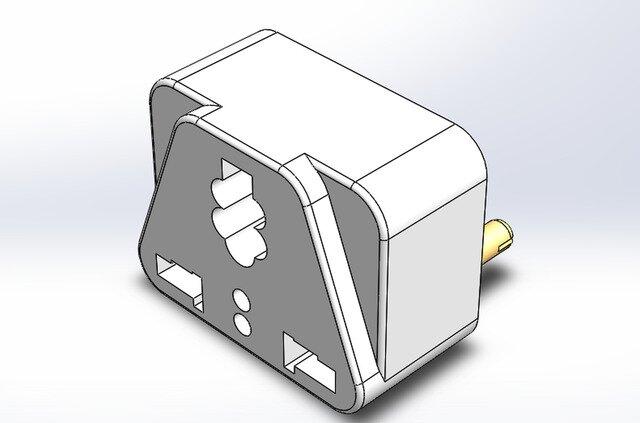 3-Shoe plug