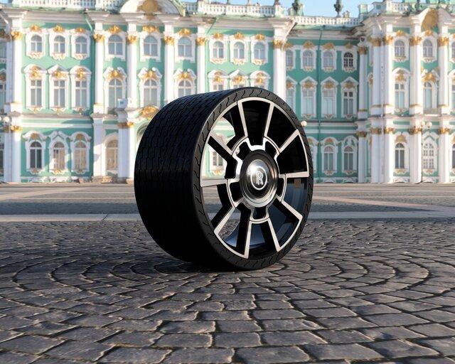 285/35 R21 Rolls Royce Ghost Black Badge Wheel