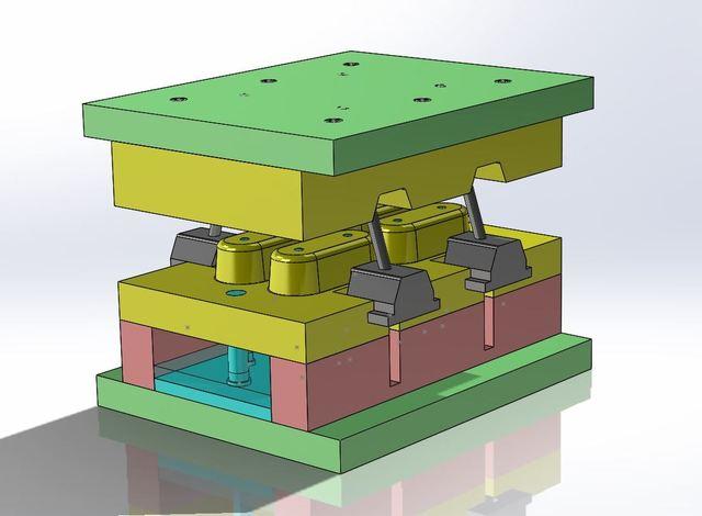 Plastic injection mold design