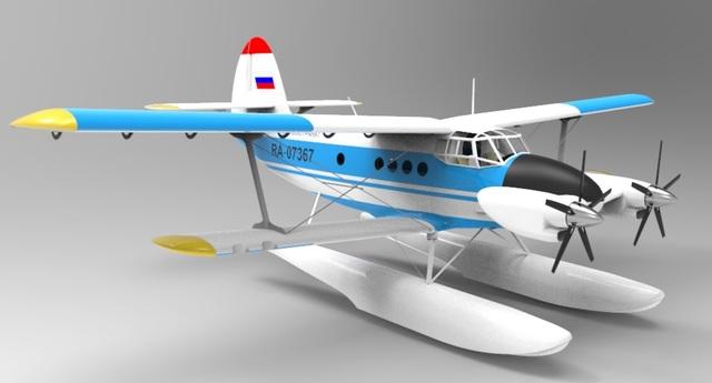 Seaplane An-2