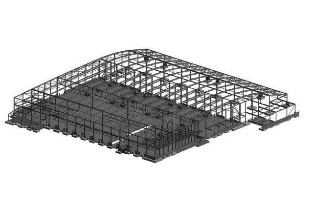 Warehouse frame