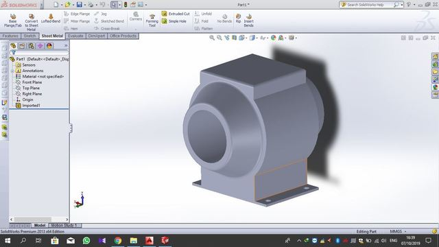 SolidWork 3D - CT RING_EUT-6-R (3D)