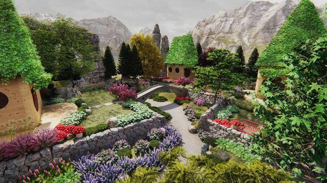 Fairy Village - Theme Park Concept