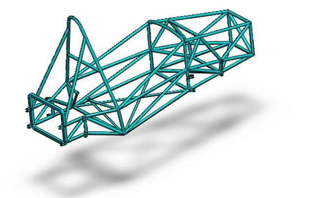 Formula Racing car Roll cage
