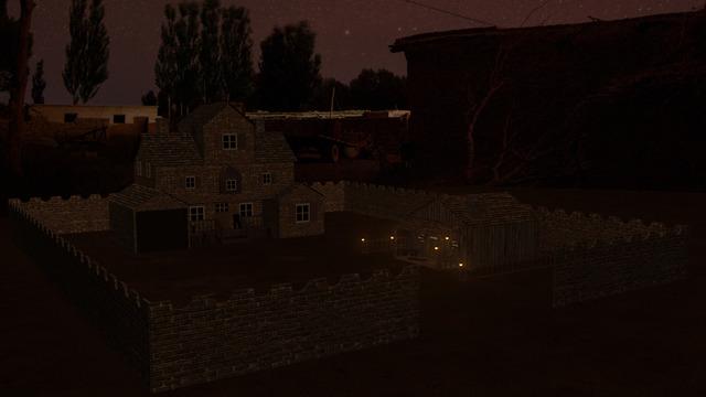 Game's Village Scene