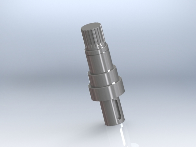 Mechanical parts for solvent machines