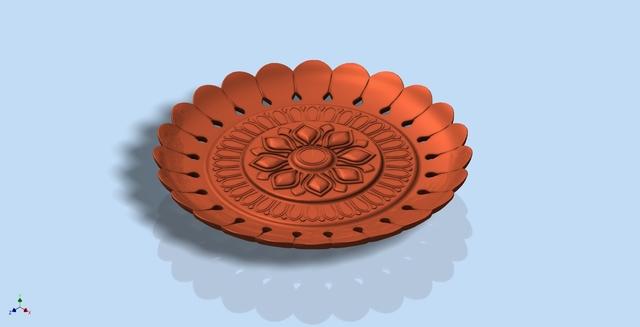 Sunchakra plate for 3D printing