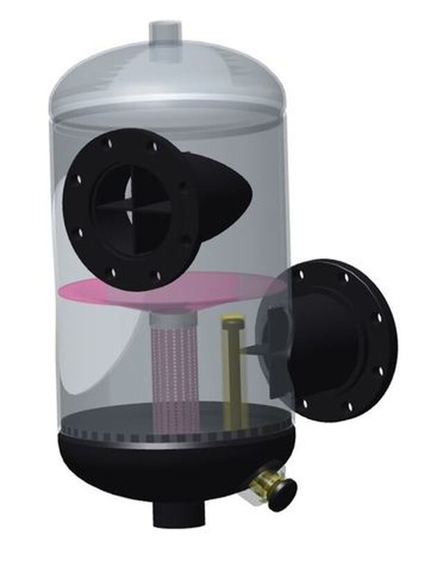 Water Purification in HVAC System (Magnetic Separation)