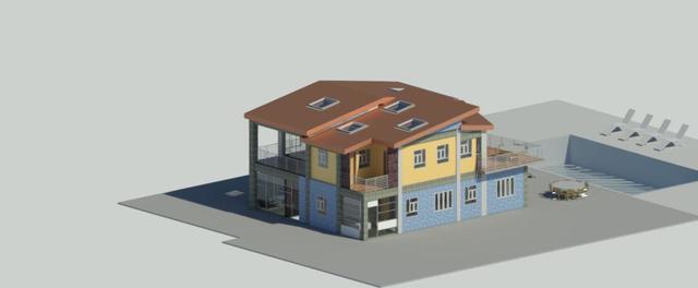 P+1 reinforced concrete villa