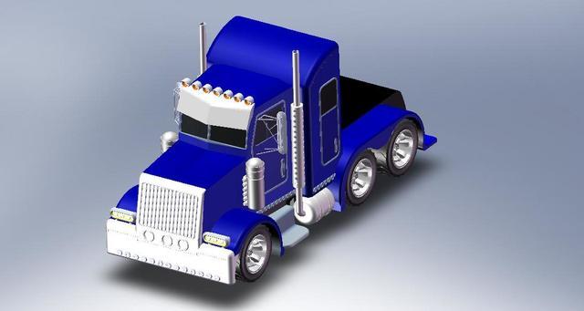car truck modeling