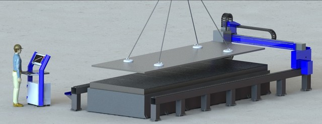 6m by 2m CNC cutter