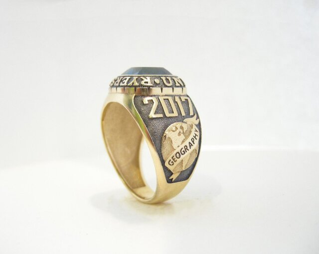 3d modeling and produce university ring