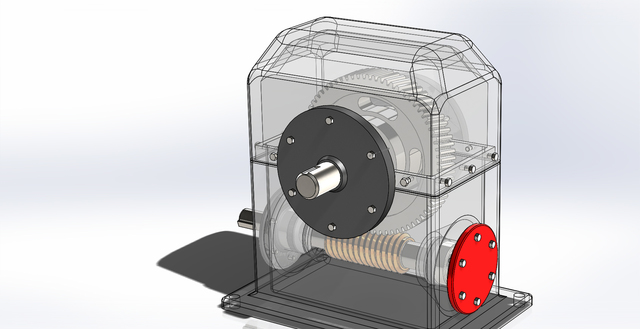 SPEED REDUCTION GEARBOX DESIGN