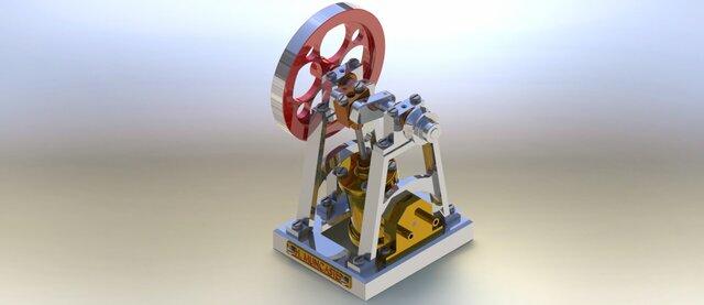 Muncaster steam engine