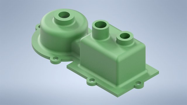 3D CAD Designing of Plastic Shell Cover from Supplied 2D Drawing