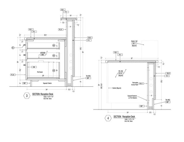 Millwork & Cabinetry Shop Drawings