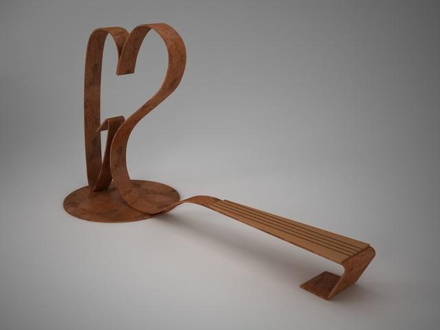 Forever Love bench