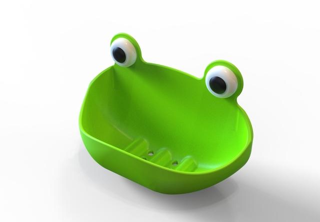 Frog's Soap Holder