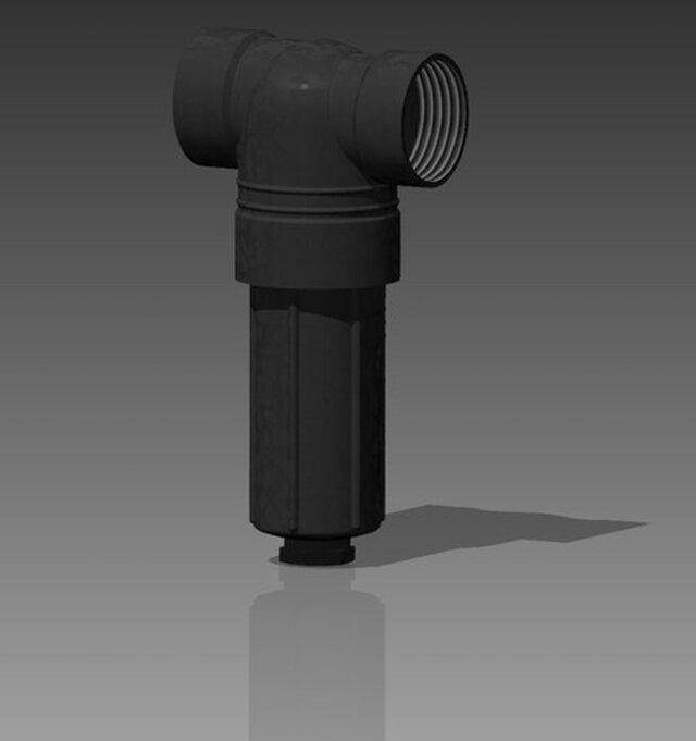 73mm (2-7/8in) OD Soaker Pipe Inline Cartridge Filter