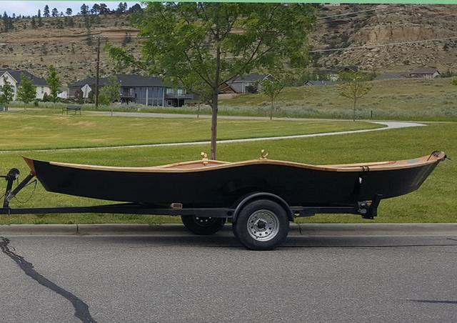 17' Wood Drift Boat