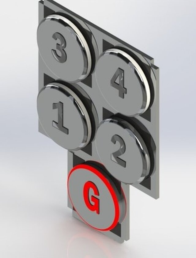 modular-elevator-button (can be used by elbow for safety))