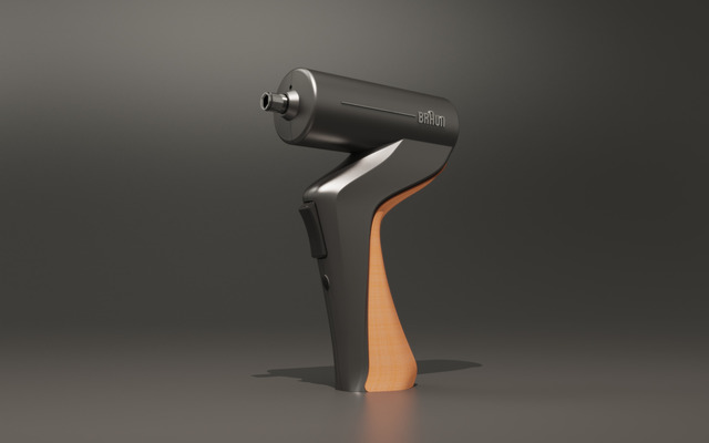 Braun electric screwdriver design and prototype.