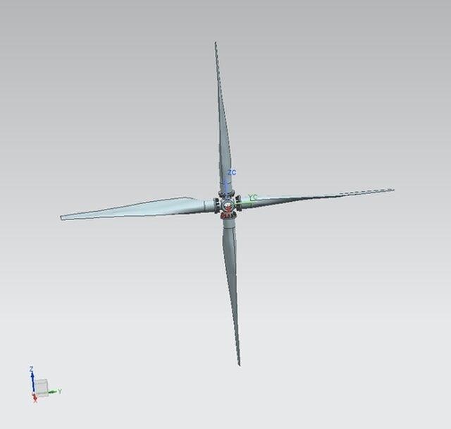 Simple propeller