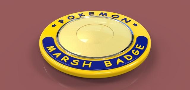 Pokemon Marsh Badge
