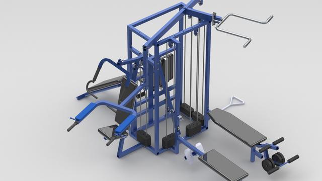 GYM Equipment Design