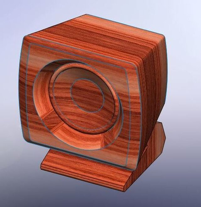 Rosewood Speaker