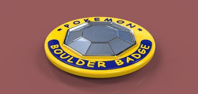 Pokemon Boulder Badge