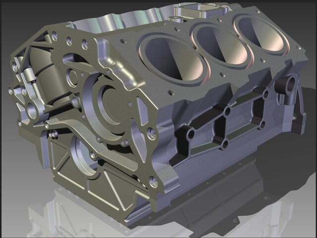 Nissan 350Z VQ35DE Engine Block and Components