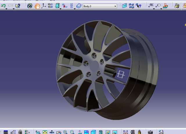 Some 3D Models by using CATIA and SolidWorks