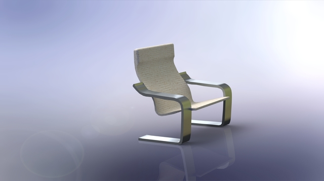 Ikea Chair Render Exercise